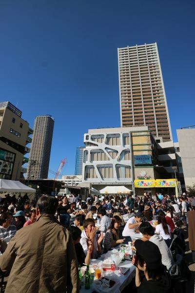 武蔵小杉カレーEXPOが開催されたこすぎコアパーク