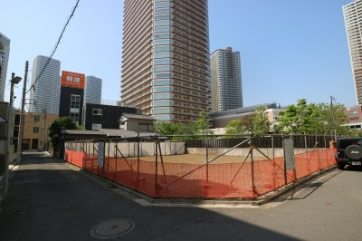 6階建てマンションの建設地