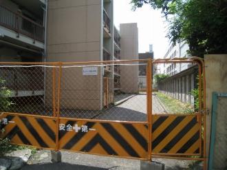 閉鎖されたKJメゾン武蔵小杉
