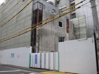 イトーヨーカドー側既存店舗の解体