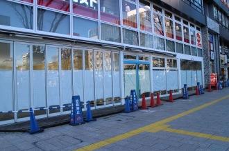 「マツモトキヨシ」が出店する区画(写真右側)