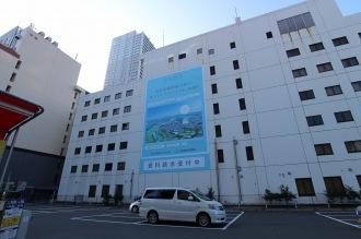 旧小杉ビルディングの「CO-SUGI PROJECT」広告