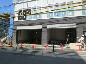 東側 商業・業務施設棟のテナント区画
