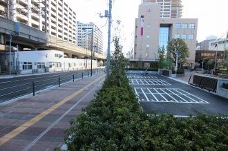 再整備された中原区役所の駐輪場
