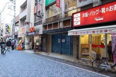 1月●日に閉店した「ドトールコーヒーショップ武蔵小杉店」