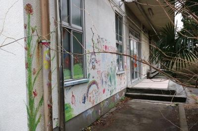 今後解体される中原図書館
