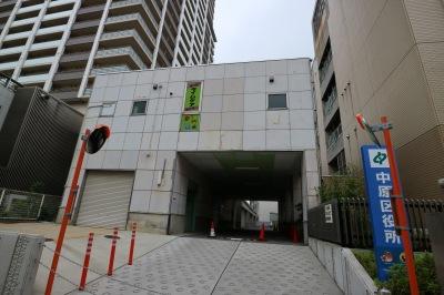 中原区役所敷地内の代替施設(2階)