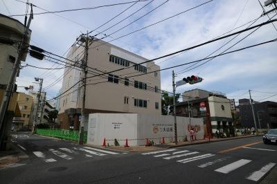 府中街道沿いの「川崎信用金庫武蔵小杉支店」移転予定地