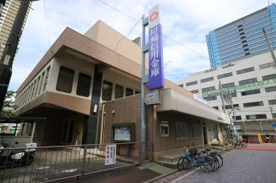 現在の川崎信用金庫武蔵小杉支店