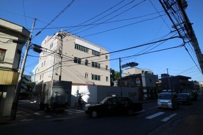 川崎信金移転先の仮店舗ビル