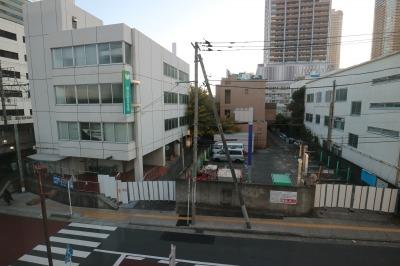 川崎信金北側通路の封鎖