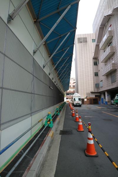 旧みずほ銀行武蔵小杉支店とイトーヨーカドー武蔵小杉駅前店の間