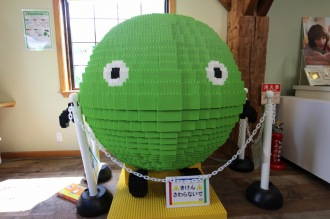 SUUMO武蔵小杉住宅展示場のダイヤブロックスーモ星人
