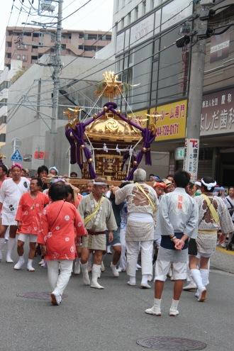 小杉町3丁目の大神輿