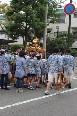 小杉御殿町の子ども神輿