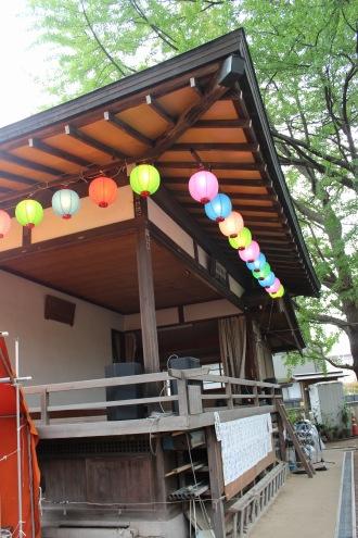 小杉神社の神楽殿