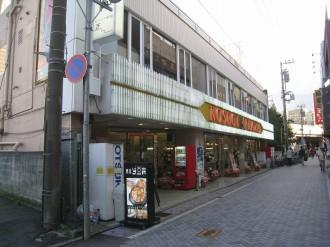 中原変電所側から見た「KOSUGI PLAZA」