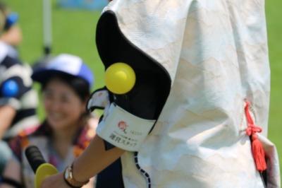 「チャンバラ合戦-戦IKUSA-」で使われる「命」のボール