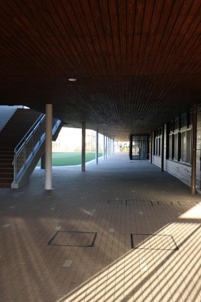 校舎の1階部分