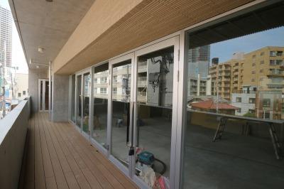 3階の「イッツ武蔵小杉スタジオ」オープン予定地