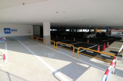 平面の駐車場・駐輪場