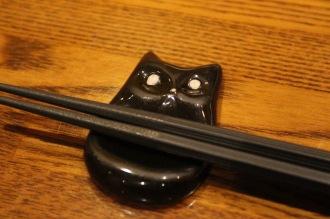 黒猫の箸置き