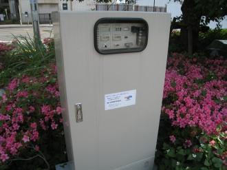 風力発電および太陽光発電のメーター