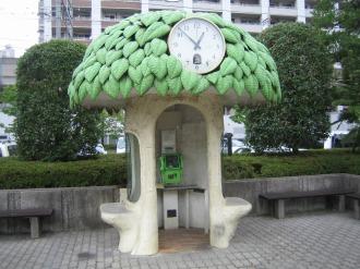 2007年当時の電話ボックス