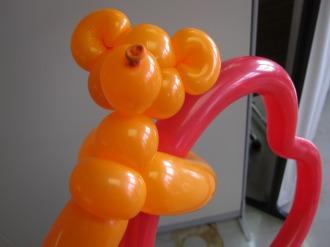 クマさんのバルーンアート