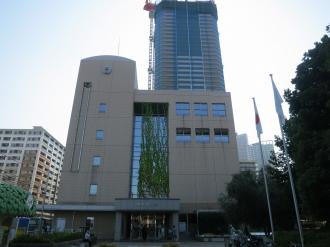 中原区役所(西側)