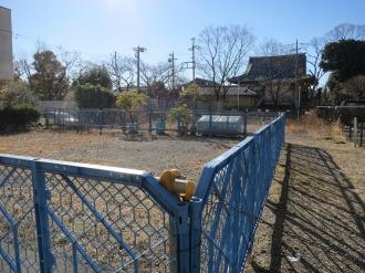 JR武蔵小杉駅バリアフリー化工事の代替地として売却された区画