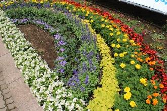 2014年「虹」のデザイン花壇