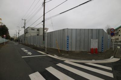 隣接地に建設中の「川崎市動物愛護センター」