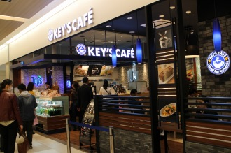 「ららテラス武蔵小杉」4階の「KEY'S CAFE」