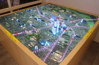中原区の模型マップ