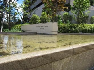 リエトコート武蔵小杉の新駅ロータリー側噴水