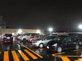 「ライフ中原井田店」の駐車場