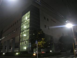 キヤノン小杉事業所(ライトダウン後)