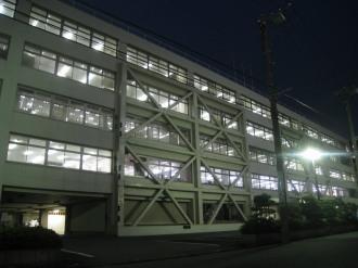 富士通小杉ビル(ライトダウン前)