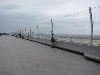 第2ターミナルの展望デッキ