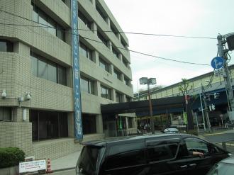 中原街道と環状八号の交差点付近