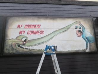 側面の壁画