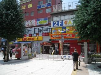 郵便ポストがあった頃の武蔵小杉駅南口