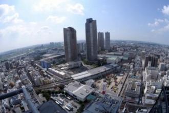 武蔵小杉駅周辺の再開発地区