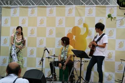 カワサキミュージックキャストの音楽ステージ