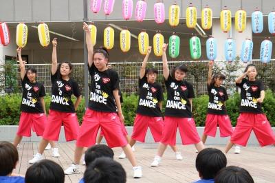 「かわさき舞祭」グループ「スーパー舞音」