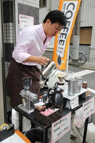 「SHIBA COFFEE」の「路地裏マルシェ」