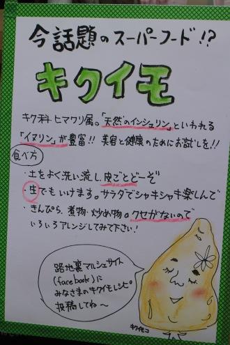 「キクイモ」の説明