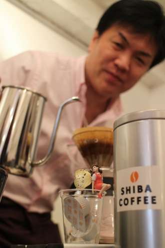 「SHIBA COFFEE」の「路地裏ブレンド」