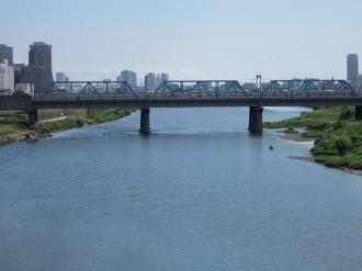 横須賀線・新幹線の鉄道橋